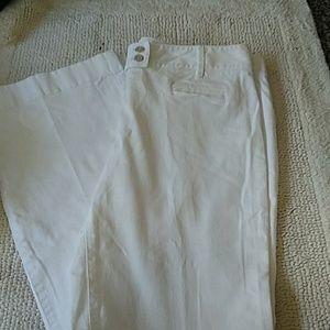 Loft white pants